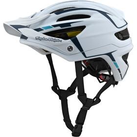 Troy Lee Designs A2 Mips Helm silber